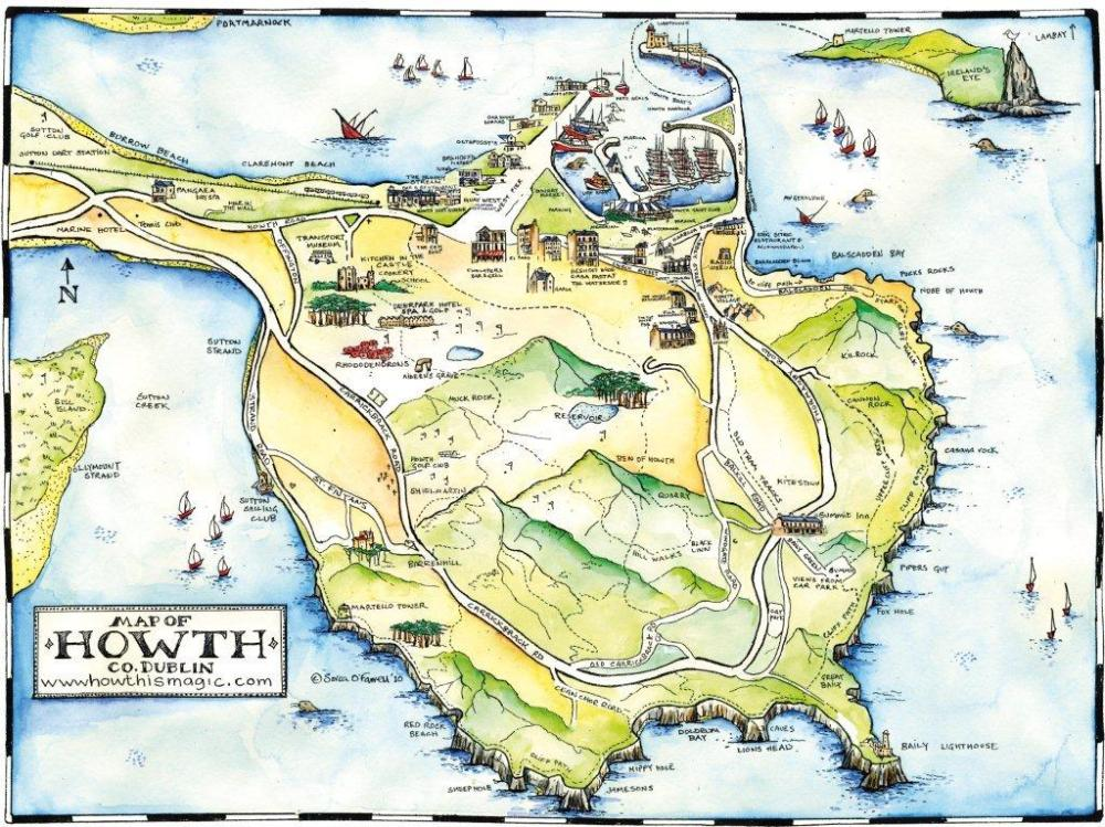 howth map