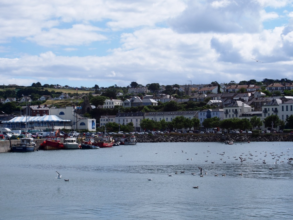 Howth harbour view