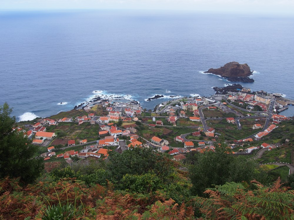 Porto Moniz vue panoramique