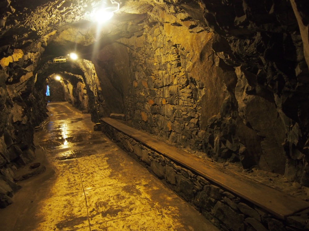 Tunnel praia do cavacas