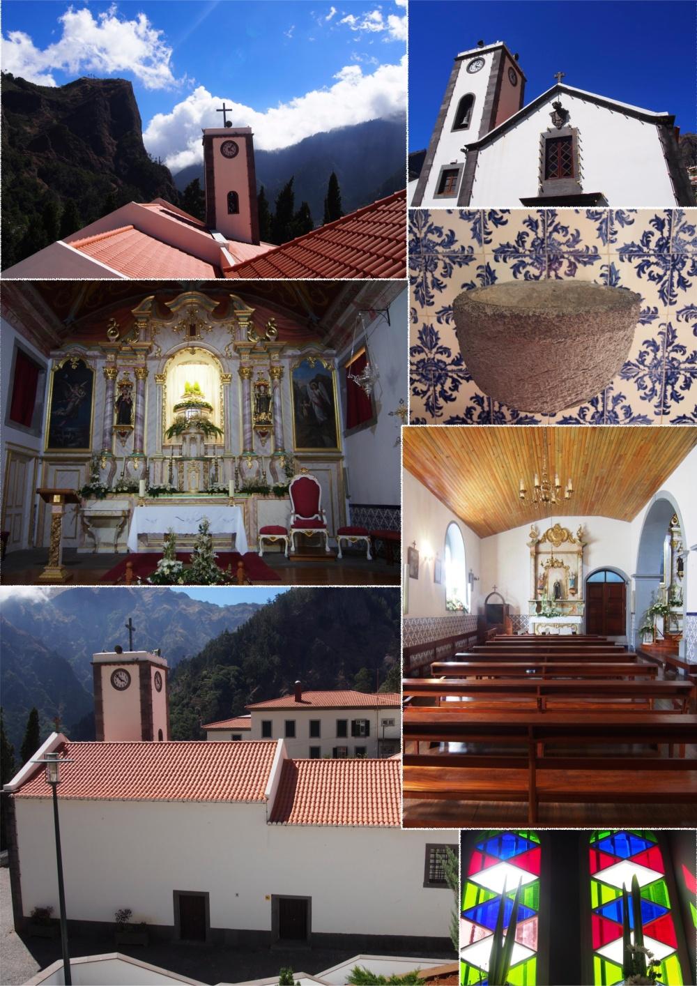 Eglise de Curral das Freiras.