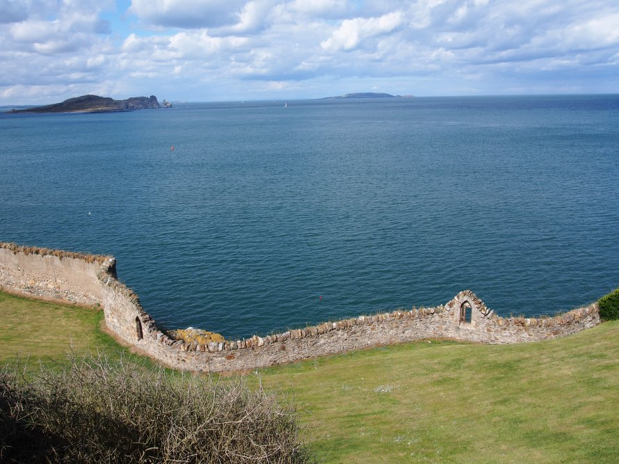 Howth mur rempart