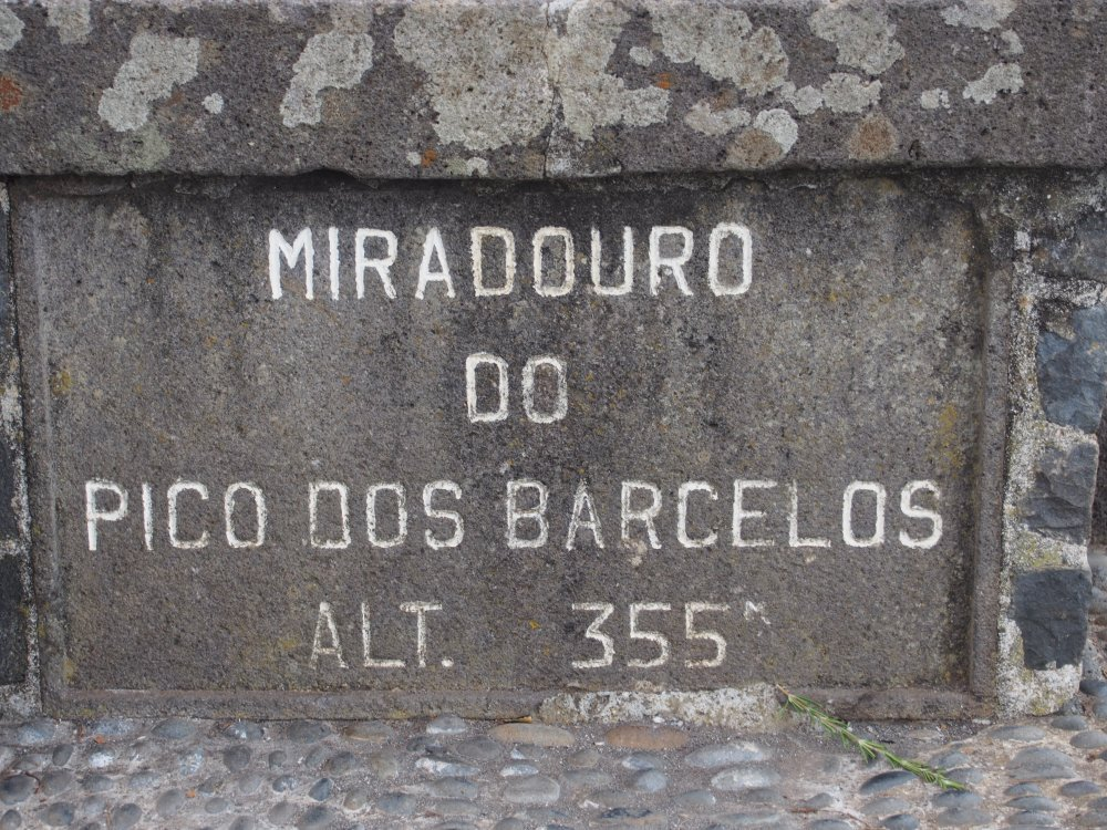Miradouro do Pico dos Barcelos