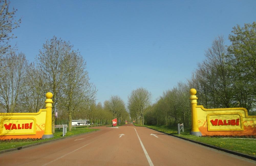 Walibi sur le Polder aux Pays-Bas - 001