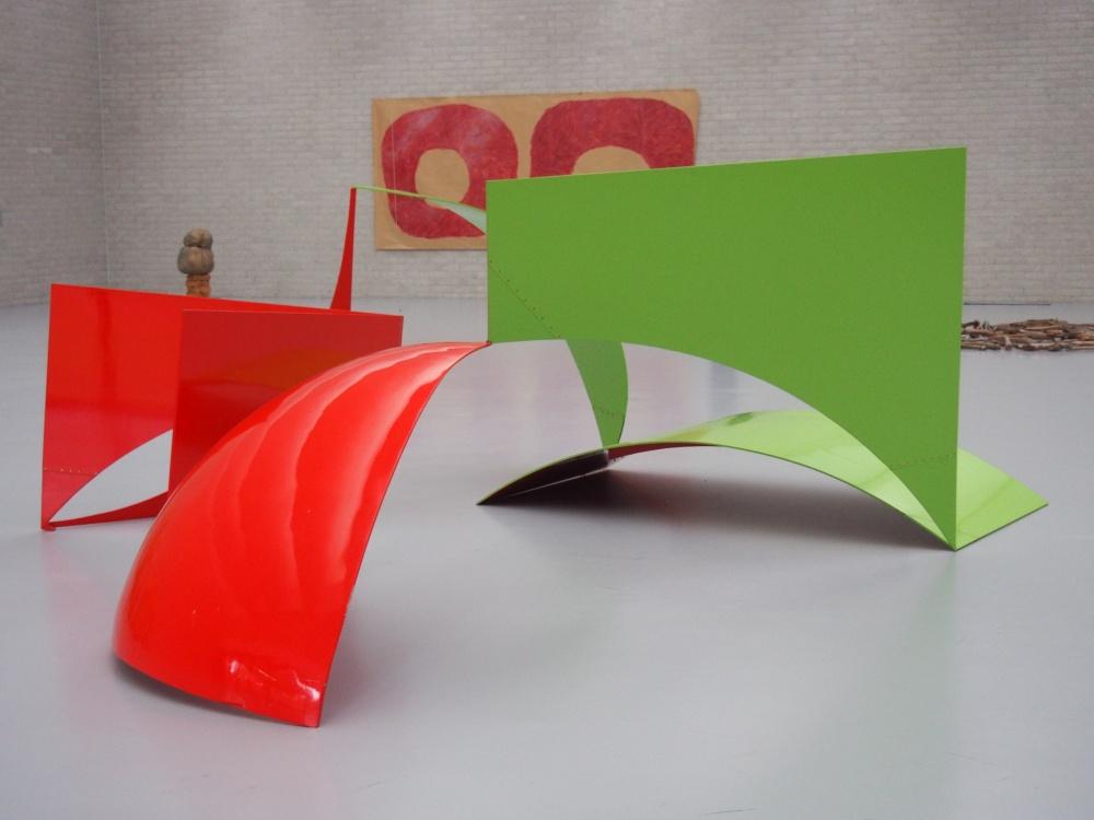 Reel I (Aluminium, fibre de verre renforcée de résine polyester, peinture, 156 x 480 x 440 cm) - 1968.